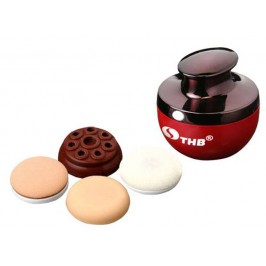 THB Multifunction Vibrating Foundation Makeup Applicator Complete Cosmetic Tool